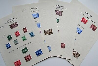XL3908: Morocco Agencies (1937 – 48).  Collection Mint Stamps. Cat £100+
