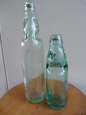 2 anciennes bouteilles soda limonade siphon bistrot 1900