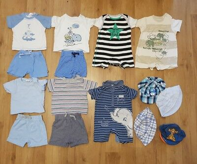 massive bundle baby boys 0-3 months clothes spring holiday etc mix & match