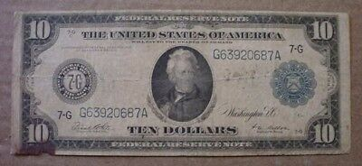 Series 1914  $10  Federal  Reserve  Note
