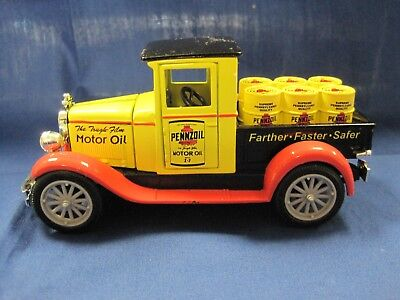 Pennzoil Petroleum Truck National Motor Museum 1/32 Scale 1928 Chevy SS-C5000P