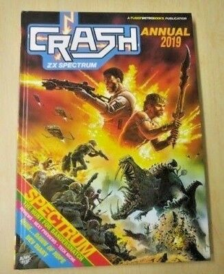 CRASH ZX Spectrum Magazine Annual 2019 - NEW Christmas Special - Issue 100