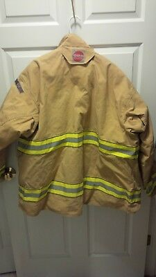 Cairns Gold RSX Jacket Fire Fighting Protective Clothing Size 54 Mint USA