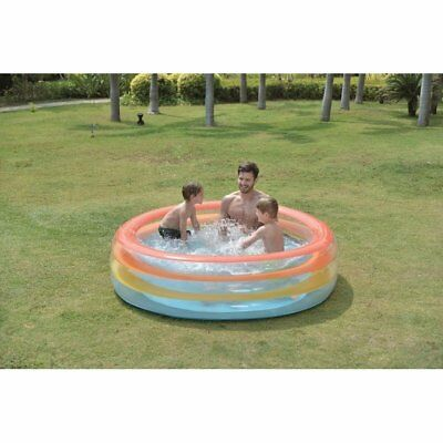 """73.5"""" Vibrantly Colored Inflatable Swimming Pool with Translucent Walls -"""