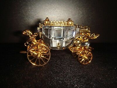 Swarovsi Crystal Moments , Crystal Gold Carriage , Swarovski No: 220 496