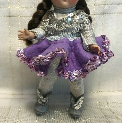 """1950's Vintage Doll Clothes,ICE SKATER, Alexander(tag), Ginny, Muffie, Kins, 8"""""""