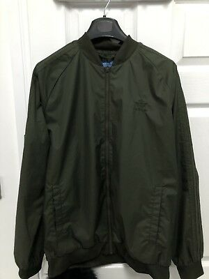 mens adidas tracksuit top size large