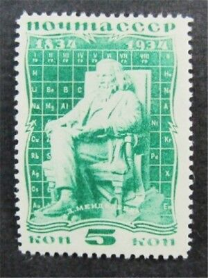 nystamps Russia Stamp # 536 Mint OG H $50