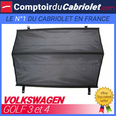 Red anti-giro quita viento, Windschott, Volkswagen Golf 3 cabriolet - TUV