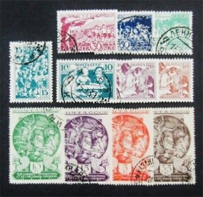 nystamps Russia Stamp # 569//665 Used $43