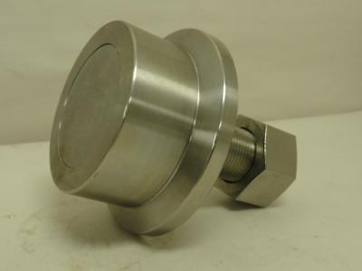 "168698 New-No Box, PCI FTRE-3.50 Flanged Track Roller, SS, 3-1/2"" Roller OD"
