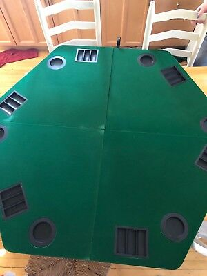 "Marlboro Unlimited 48"" Folding Poker Table Top & Carrying Case"