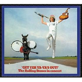 "CD THE ROLLING STONES ""GET YER YA YAS OUT"". Nuevo y precintado"