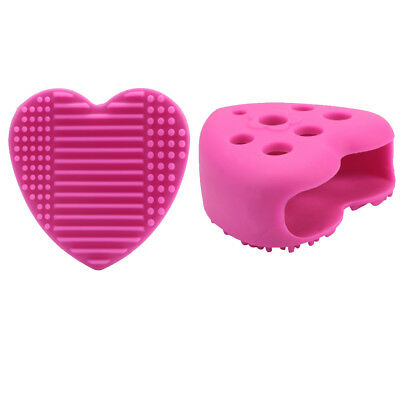Egg Cleaning Glove Makeup Washing Brush Drying Racks Scrubber Tool Cleaner US