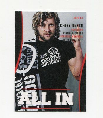 Kenny Omega *ALL IN* Wrestling Trading Card #4
