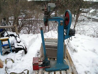 Ideal Wire Stitcher Machine (Model A-20230) With GE Motor and staple roll