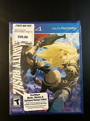 Gravity Rush 2 (Sony PlayStation 4, 2017) PS4 Brand New & Factory Sealed