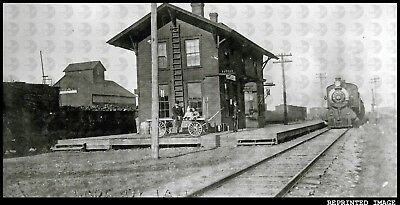 Chicago Rock Island and Pacific Railroad RI Depot Train Station Popejoy IA