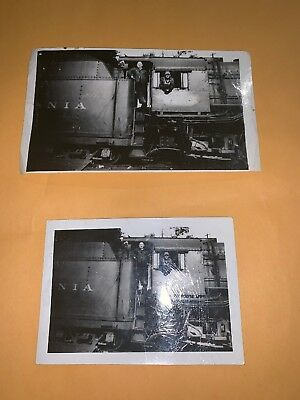 Vintage Prr Railroad Train Photos Altoona Pa