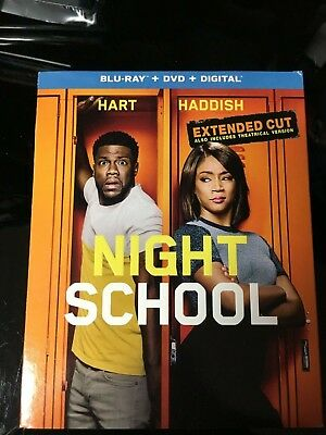 Night School Extended Cut Kevin Hart Blu-ray ONLY Blu-ray