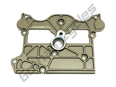 Ducati Gold Magnesium Colored Vertical Rear Cylinder Head Valve Left Side Cover