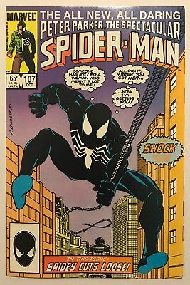 The Spectacular Spider-Man #107 HIGH GRADE KEY! 1ST APPEARANCE SIN EATER! 🔥🔑