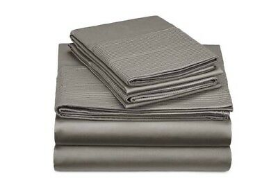 Pinzon 400-Thread-Count Egyptian Cotton Sateen Hemstitch Sheet Set - Full