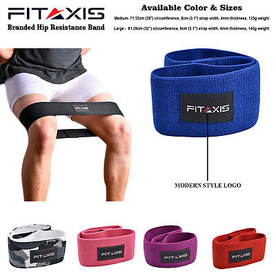 Hip Resistance Band Circle Squat Glute Leg Loop Rotation Thrust Gym Exercise