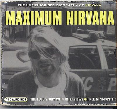 NIRVANA - Maximum Nirvana: Interview - CD 2002 NEAR MINT CONDITION NO POSTER