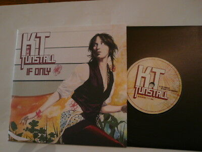 """KT TUNSTALL If Only - 7"""" Single - Relentless Records REL48 - New!"""