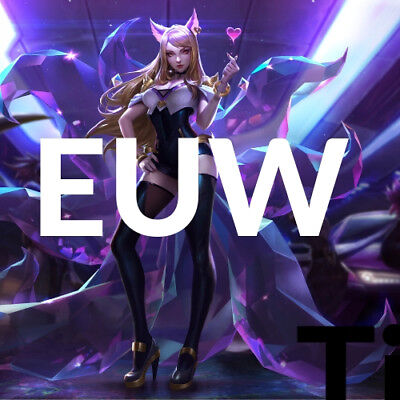 League of Legends Account 22000+ BE IP LOL Smurf ACC EUW Level 30 Unranked 22k+