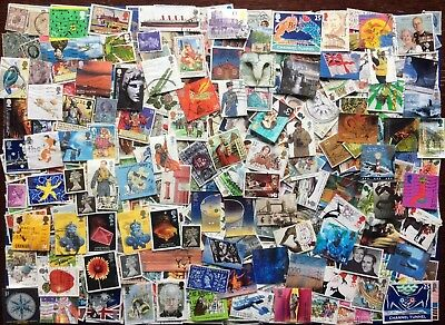 A COLLECTION OF 425(+) Used G.B. STAMPS: Plus  ALL ***84*** Sets from the 1980s