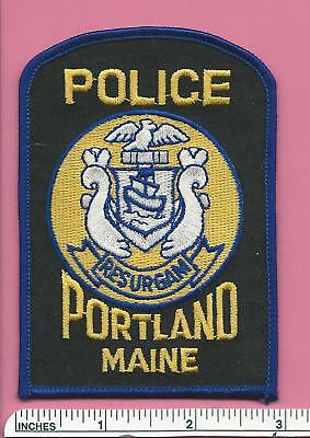 Portland ME State of Maine Law Enf. Police Shoulder Patch - Cumberland County