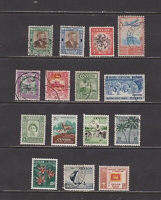 Ceylon-  Lot 132,  Older Used.