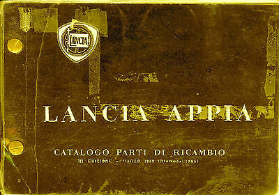 Lancia Appia Documentation on CD/DVD Choose ONE of Four for this auction
