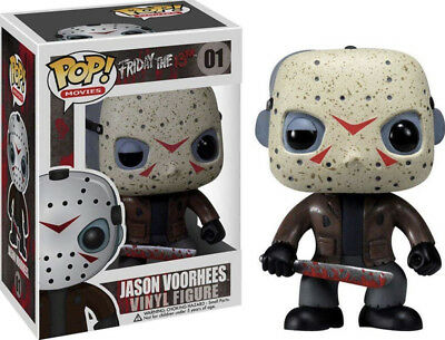Funko Pop classic  Horror Movie Jason Voorhees Friday The 13th Chase in the Dark