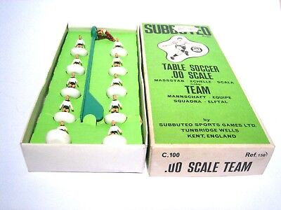 Subbuteo Team Ref. 156 West Germany Team, Table Soccer 1960er Jahre