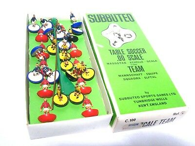 Subbuteo 3 Teams , Table Soccer 1960er Jahre