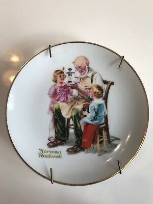 The Toymaker By Norman Rockwell Plate