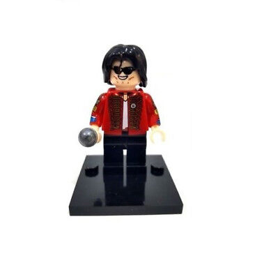 Michael Jackson The King of POP Minifigures Compatibile LEGO - Nuovo in Blister