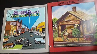 Grateful Dead Shakedown Street and Terrapin Station lps