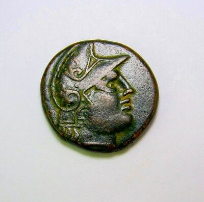 Spectacular Lysimachus.Famous Phrygian helmet  and Trophy. Ancient Greek coin