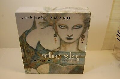 YOSHITAKA AMANO THE SKY The art of Final Fantasy. 3 Hard back in slip case