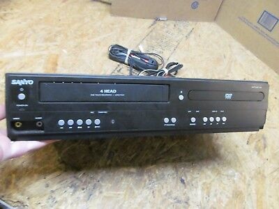 Sanyo FWDV225F DVD VCR VHS Combo Player w/ Remote     (lot 7210)