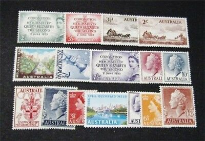 nystamps British Australia Stamp # 259//301 Mint OG H/NH $30