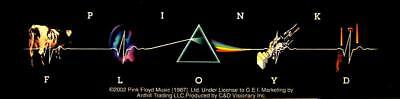 PINK FLOYD AUFKLEBER / STICKER # 45 ALBUM COVERS - 15x4cm