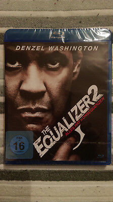 The Equalizer 2 - Denzel Washington - Blu-ray - Neu und in Folie!!!