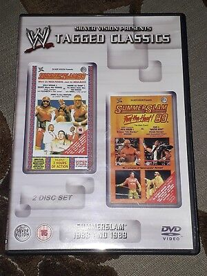 Summerslam 88/89 WWE Tagged Classics DVD WWF WCW ECW Hogan Andre the Giant