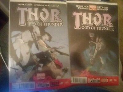 Thor God Of Thunder #5 and #6 First Print 1st App of Knull God of Symbiotes