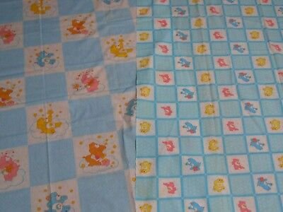 Vintage Care Bears Fabric dated 1984  NOS